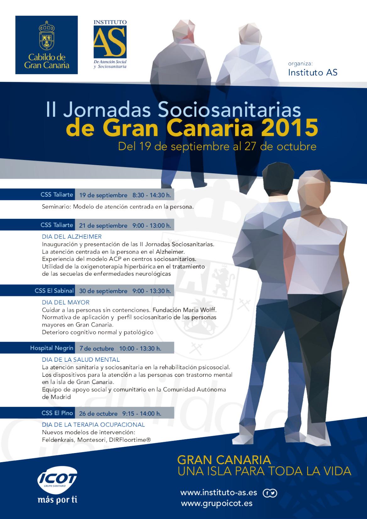 II Jornadas Sociosanitarias de Gran Canaria 2015